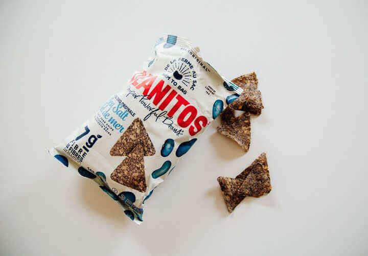 a bag of snacks