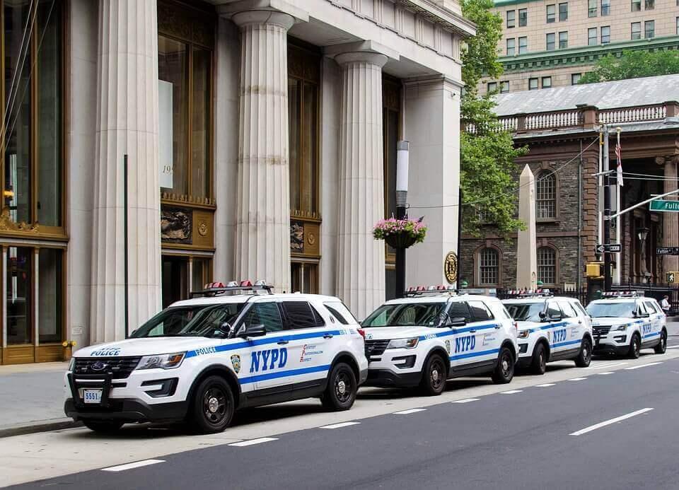 NYPD SUV's