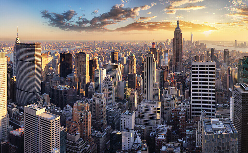 the view of NYC