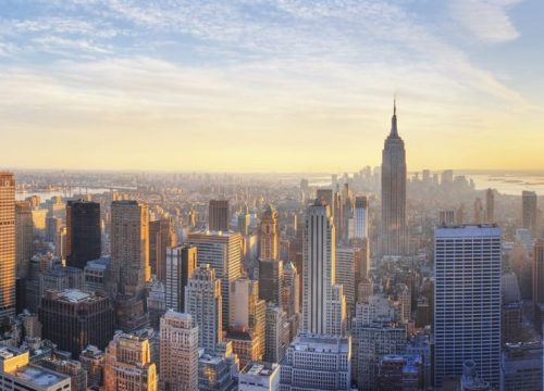 A view of the New York City